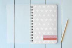 Reach for the Stars Day Planner, Notebook, or Address Book by Stacey Meacham at minted.com