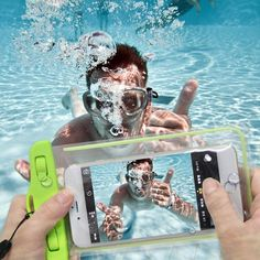 Wish | PVC Luminous Waterproof Phone Case Cover For Iphone Water Proof…