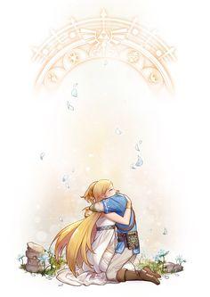 zelink by lulubuu on DeviantArt The Legend Of Zelda, Legend Of Zelda Memes, Legend Of Zelda Breath, Zelda Tattoo, Princesa Zelda, Fanart, Link Zelda, Wind Waker, Gifs