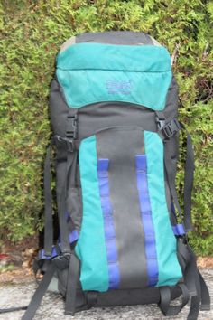 c0a3ab6814 Vintage DANA DESIGN Bomb Pack BACKPACK Green Med LARGE Pre- Mystery Ranch  SKI