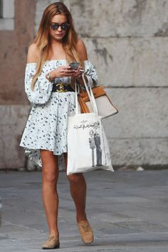 The best celebrity street style looks spotted recently: Lindsay Lohan