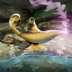 Genie Lamp by dreamastermind.deviantart.com on @deviantART