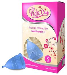 Vida Menstrual Cup offered by Medihealth 1 giving women alternative protection through their Menstrual Cycles          http://www.amazon.com/dp/B011C5Q8NY