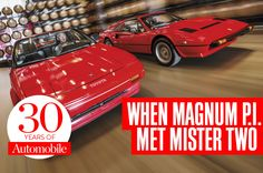 When Magnum P.I. met Mister Two: Ferrari 308 vs. Toyota MR2. Revisiting our first cover story test.