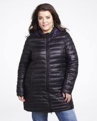 hooded down coat | Shop Online at Addition Elle