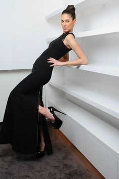 Pin Up Girls, High Neck Dress, Dresses, Fashion, Turtleneck Dress, Vestidos, Moda, Fashion Styles, Dress