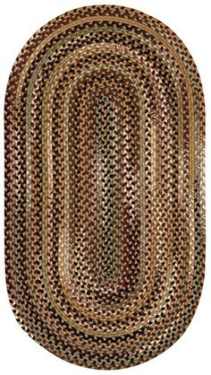 This variegated Gramercy rug in tan is a trending #Capel_rug that is made in the #USA