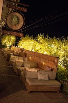 New outdoor seating restaurant beer garden Ideas
