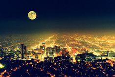 Bright lights, big city #photography