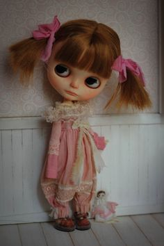 ♥ 01 overalls for blythe doll