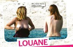 Naked louane Louane Emera