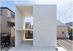 // Little House with a Big Terrace by Takuro Yamamoto Architects