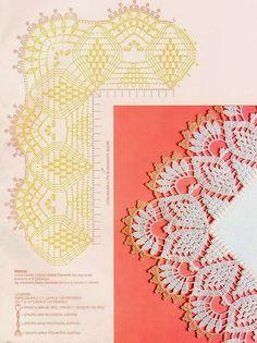 Crochet: Edgeing * tante bordure con angoli anche in pizzo di bruges *