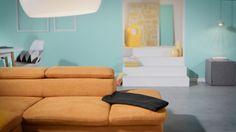 Ein Stück Frühling für zuhause: Die moderne Polsterecke von Sit & More ist gemütlich und farbenfroh wie eine blühende Blumenwiese – eben ein richtiger Platz zum Wohlfühlen! Der Rahmen besteht aus FSC®-zertifiziertem Holzwerkstoff, bei dem äußeren Erscheinungsbild könnt ihr aus verschiedenen Farben und Bezugsstoffen wählen. Auf Wunsch ist die neue Ruhe-Oase auch mit einer praktischen Bettfunktion erhältlich.