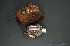 Флешка на 16 Гб Стимпанк (в сумочке) steampunk - флешка на 16 гб,флэшка на 16 гб