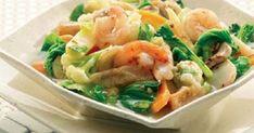 Cap Cay Goreng Seafood Spesial Bahan Utama Cap Cay Goreng Seafood