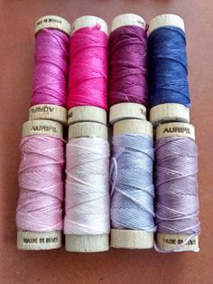 Plain Stitch: Julia's Notion of the Month: Why we all Love Aurifloss!