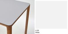 Giro Table created by Carlos Ortega Design using Formica® Laminate