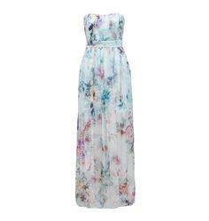Karen silk printed maxi - Forever New. Floral bridesmaid dress