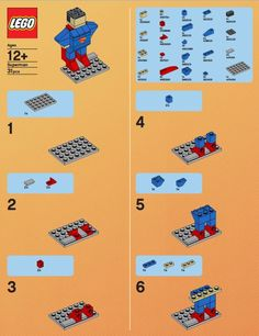 lego+superman+model+build+instruction+1.JPG 540×701 pixels