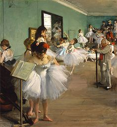 The Dance Class - Hilaire Germain Edgar Degas - Painting Reproduction