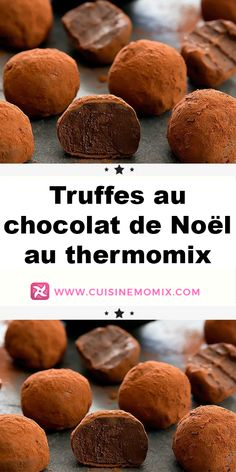 You don't have to be a master chocolate maker to make delicious fondant truffles to enjoy when you have coffee (or tea! The proof: the Thermomix chocolate truffles presented here are very simple to make. Cheesecake Mousse Recipe, Chocolate Mousse Cheesecake, Turtle Cheesecake Recipes, Easy No Bake Cheesecake, Homemade Cheesecake, Classic Cheesecake, Chocolate Truffles, Kraft Foods, Kraft Recipes