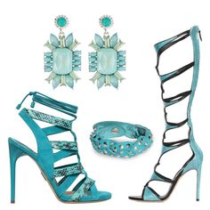 Casadei and Paul Andrew Gladiator Sandals SS 2015 Sweet Deluxe Jewels | Shoes