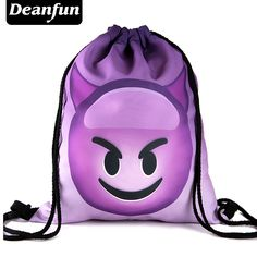 Deanfun Bag Ladies Emoji Backpack 2016 New Fashion Women Backpacks 3D Printing Bags Drawstring Bag For Men #electronicsprojects #electronicsdiy #electronicsgadgets #electronicsdisplay #electronicscircuit #electronicsengineering #electronicsdesign #electronicsorganization #electronicsworkbench #electronicsfor men #electronicshacks #electronicaelectronics #electronicsworkshop #appleelectronics #coolelectronics