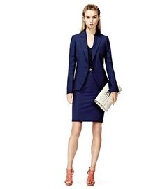 Lizzie Skirt Suit Reiss
