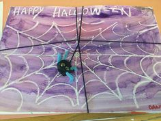 Happy Halloween! Arty Halloween, magic painting in P3.