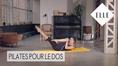 Notre cours de pilates pour le dos┃ELLE Pilates