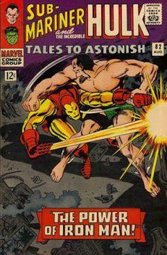 Tales to Astonish 82 Sub-Mariner Hulk silver age marvel comics group Old Comic Books, Marvel Comic Books, Comic Book Artists, Comic Book Covers, Old Comics, Vintage Comics, Marvel Comics Superheroes, Marvel Heroes, Marvel Vs