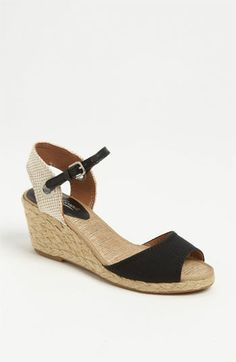 Lucky Brand 'Kyndra' Sandal available at #Nordstrom in black or morrocan blue