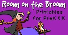 FREE printables to go along with the Halloween book Room on the Broom. Great for preschool and kindergarten kids, the activities include story sequencing, letter sounds, sorting and tracing. Fall Preschool, Preschool Lesson Plans, Kindergarten Lessons, Preschool Books, Kindergarten Writing, Literacy, Fun Fall Activities, Halloween Activities For Kids, Sequencing Activities