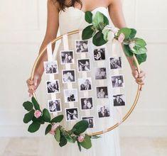 diy Wedding Crafts: Hanging Floral Photo Hoop – www.diyweddingsma… diy Wedding Crafts: Hanging Floral Photo Hoop – www.diyweddingsma… This. Floral Wedding, Rustic Wedding, Wedding Flowers, Boho Wedding, Trendy Wedding, Wedding Beach, Farm Wedding, Wedding Colors, Wedding Wreaths