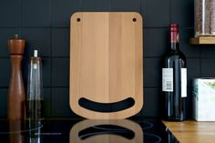 The Happy Chopper chopping board designed by All Lovely Stuff.