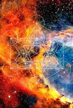 @sarahashleighpoletti Metatron's Cube.