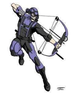 Hawkeye Redesign by jevanlee.deviantart.com on @DeviantArt