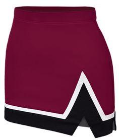 Chassé Stadium Tri-Color Stadium Cheerleading Uniform Skirt