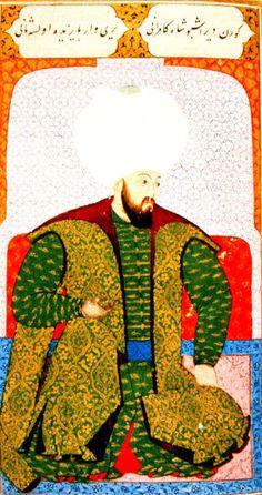 OĞUZ TOPOĞLU : ikinci bayezid nakkaş osman minyatürü - osmanlı mi...