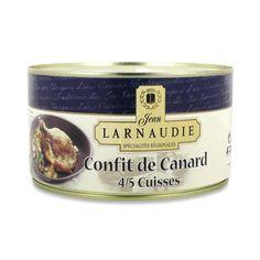 Larnaudie Confit de Canard 4/5 Cuisses, 1,240 kg - Salling.dk
