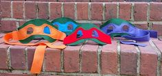 Teenage Mutant Ninja Turtle Inspired Mask by littleshepsters, $8.00