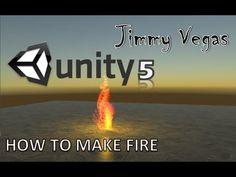 Unity 5 Mini Tutorial - How To Create Fire - Beginner - YouTube