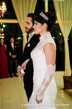 Luva com renda para noiva                                                       …