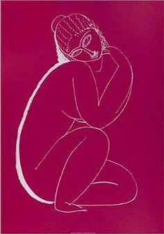 Nudo accosciato, 1910-11 of artist Amedeo Modigliani