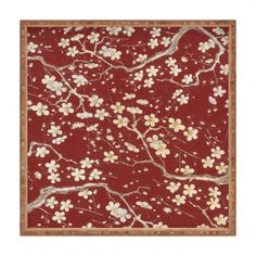 Belle13 Sakura Cherry Blossoms Square Tray | DENY Designs Home Accessories