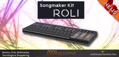 Roli Songmaker Kit, multicontroller di ultima generazione Multimedia, Hardware, Kit, Musica, Tecnologia, Computer Hardware