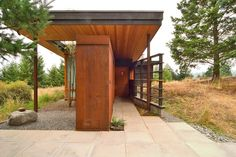 Sustainable Home Design San Juan WA  Natural Modern Architecture Firm