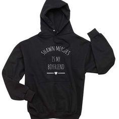 MENDES 98 BLACK SWEATSHIRT TOP JUMPER PULLOVER SHAWN MENDES INSPIRED VINE SINGER
