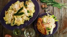 This elegant pasta dish is perfect for a special occasion.